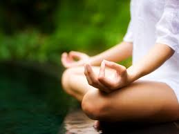 rosacea causes stress and meditation relief